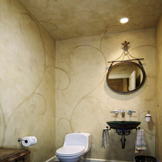 Traditional Powder Room by Kaufman Homes, Inc.