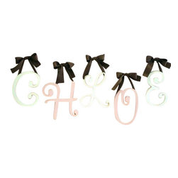 New Arrivals Inc. - Cursive Letters (9 Inch) Pink - The 9 Inch Cursive Letters by New Arrivals Inc. make a great addition to any girl's room.