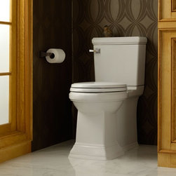 American Standard Town Square FloWise Conc Trapway RH El Toilet - •High efficiency, ultra-low consumption (4.8Lpf/1.28 gpf), utilizes 20% less water