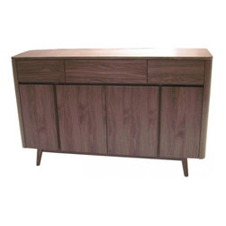 Apt2B - Murtaugh Buffet Console - RIGGS!! The Murtaugh is definitely NOT too old for this.... stuff....  It brings out nostalgic memories but is back in action and kickin' butt! Features 3 drawers and 4 doors to store anything you like.