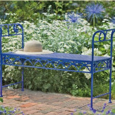 Traditional Outdoor Stools And Benches by Gardener's Supply Company