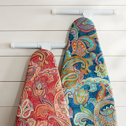 PB Ironing Board Covers - Oh, heck yeah! This could make ironing fun — well, sort of.