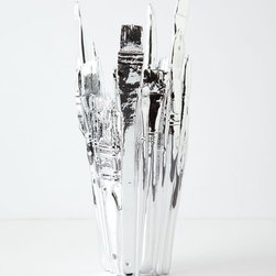 "Silver Palette Vase - Talk about ""wow"" factor. The person that you know will love this will love you forever and a day if you gift them this metallic stunner."