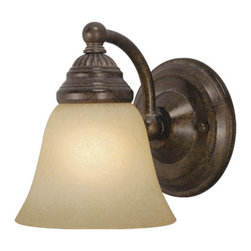 Vaxcel - Standford Wall Sconce - Vaxcel WL35121RBZ Standford Royal Bronze Wall Sconce