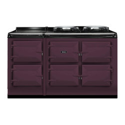 AGA Total Control 5 Oven Range Cooker, Aubergine | ATC5-AUB - The new TC5, the latest model in the Total Control series, brings you five large cast iron ovens, two hotplates and a warming plate to deliver incredible capacity and flexibility.
