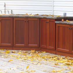Outdoor Cabinets - Outdoor cabinets by Seifert Woodcrafts