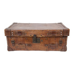 Antique Leather Valise