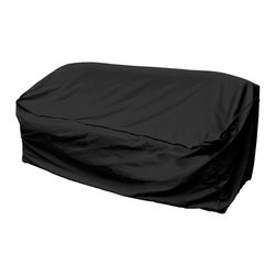 Mr. Bar B Q - Mr. Bar-B-Q Patio Sofa Cover - Protect your property from outdoor substances with this patio sofa cover from Mr. Bar-B-Q that also resists extreme temperatures. This cover is specially coated for enhanced water protection and dual function layers for added strength and durability.