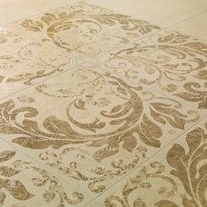 "Traditional Tile Acanto by Dune - 24x24"" decorative porcelain floor tile"
