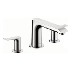 Hansgrohe - Hansgrohe - Metris 3 Hole Roman Tub Set Trim - 31440001 - Chrome - Founded in Germanys Black Forest in 1901, Hansgrohe is committed to building a strong sense of tradition. Hansgrohes products offer a lifetime of satisfaction featuring the ultimate in quality, design and performance. Customers appreciate our many breakthroughs in comfort and technology that allow you to make the most of water. With its wide range of products, Hansgrohe has the right solution for you. Enjoy every moment, each one is unique, just like your Hansgrohe shower. Hansgrohe has always had a sharp eye for innovation, designing products with exceptional durability that are not only highly functional but also a source of pleasure. For us, this means constantly advancing and striving for improvements. Our showers and faucets offer many useful functions and details that make daily use as easy and comfortable as possible so that you can enjoy your Hansgrohe products for many years to come.
