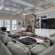 Traditional Family Room by Barba Builders, Inc.