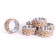 Beach Style Napkin Rings by Indeed Decor
