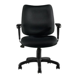 Offices To Go - Offices to Go Tilter Chair with Arms in Black - Offices to Go - Office Chairs - OTG11612B - Offices to Go is proud to offer exceptional comfort and style while maintaining a value conscious approach to seating.