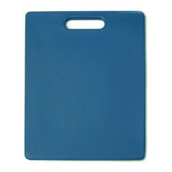 Architec Original Gripper Cutting Board Periwinkle - The Architec Original Gripper Cutting Board features 300+ soft gripping feet which are thermally bonded to the durable  polypropylene cutting surface.  Dishwasher safe.  Award winning design.            Product Features                        Soft feet allow cutting surface to grip countertop            Non skid            Polypropylene construction            Dishwasher-safe