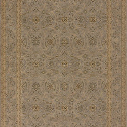 Loloi - Loloi Stanley Steel-Steel Area Rug - The magnificent Stanley Collection features modern interpretations of the most sophisticated hand knotted designs. Recreated in Egypt with power loomed technology these gorgeous polypropylene area rugs offer an affordable alternative.
