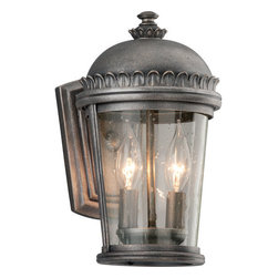 Troy Lighting - Troy Lighting B3561 Ambassador 2 Light Outdoor Wall Sconce - Features: