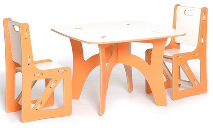 Modern Kids Tables And Chairs by Sprout, Quark Enterprises