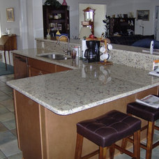 Traditional Kitchen Countertops by TheCounterTopLady.com aka FLGACabinetsTileAndTops