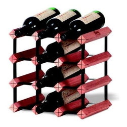 Franmara - Monterey Wine Racks Modular Hardwood and Steel 12-Bottle Rack Kit - This gorgeous Monterey Wine Racks Modular Hardwood and Steel 12-Bottle Rack Kit has the finest details and highest quality you will find anywhere! Monterey Wine Racks Modular Hardwood and Steel 12-Bottle Rack Kit is truly remarkable.
