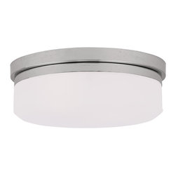 Livex - Livex Isis Ceiling Mount or Wall Mount 7392-05 - Finish: Chrome