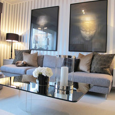 Contemporary Living Room by Sindahl
