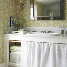 Make a Small Bath Look Larger - Better Homes and Gardens - BHG.com