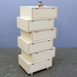 Jeb Jones - Jeb Jones | Jeb Jones Stacking Drawers, Dresser 6 - Design by Jon Eric Byers.