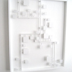 Bossa Nova Abstract Modern Wall Sculpture by The Happy Collective - This abstract wall sculpture will bring a modern zen to any wall.