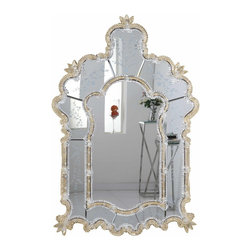 "PWG Lighting / Lighting By Pecaso - Zabrina Crystal Vanity Fixture MR-6296G - Mirror 33""x1.75""x48.75""H GD"