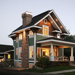 Plans For New Homes - The quintessential Craftsman-style home