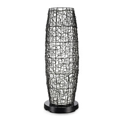 Patio Living Concepts - Patio Living Concepts Patioglo Led Lamps Floor Lamp - Bright White - Walnut Rand - Floor Lamp - Bright White - Walnut Random Weave Resin Wicker Cover belongs to PatioGlo LED Lamps Collection by Patio Living Concepts NEW FOR 2013! AWARD WINNING DESIGN! 6 super bright white LEDs provide equivalent light output of a 70 watt incandescent bulb while only using 6 watts. Body of the PatioGlo lamp is molded of special UV protected high density frost polyethylene mounted to a weighted resin base. The base includes an energy saving low voltage LED light source designed to provide years of carefree illumination. Accented with a walnut random weave resin wicker cover. Completely weatherproof with nothing to rust or corrode. Great for seaside environments. Includes remote control with on/off and dimming functions. Lamp (1)