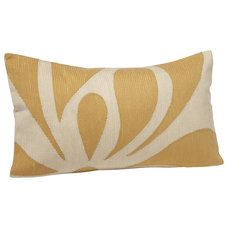 Traditional Decorative Pillows by Crewel Fabric World by MDS