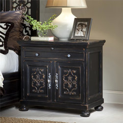 Ambella Home - New Ambella Home Nightstand Scrolling Gate - Product Details