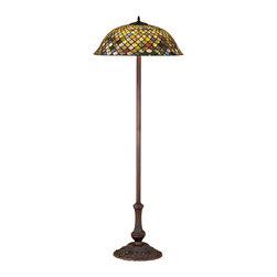 "Meyda Lighting - Meyda Lighting 30456 63""H Tiffany Fishscale Floor Lamp - Meyda Lighting 30456 63""H Tiffany Fishscale Floor Lamp"