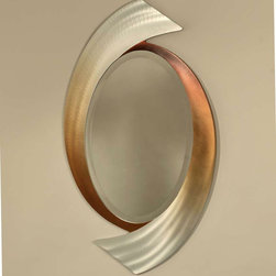 Swerve Designer Wall Mirror By Nova Lighting - Swerve Designer Wall Mirror is the ultimate in chic style. Its sleek curves and fantastic finish will complement today`s modern decors as well as contemporary or transitional settings.