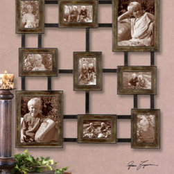 "13541 Lucho, Hanging Photo Collage by uttermost - Get 10% discount on your first order. Coupon code: ""houzz"". Order today."