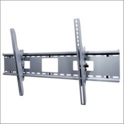 "Peerless - Peerless 42""-71"" Universal Tilt Mount Black - Enhance the installation experience with the ST670. Its wall plate holds screens weighing up to 250 lb while featuring junction box access ports and horizontal screen adjustment up to 8"" for ideal screen positioning. Its exclusive pre-tensioned screen adap Universal mount fits screens with mounting patterns up to 36.04"" W x 19.79"" H