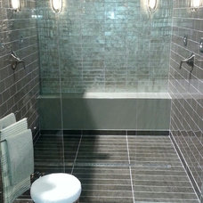 Contemporary Showers by Noble Company