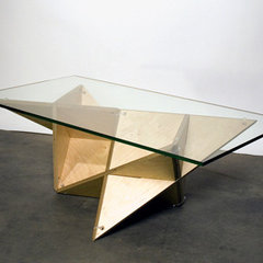 eclectic coffee tables by J1 Studio