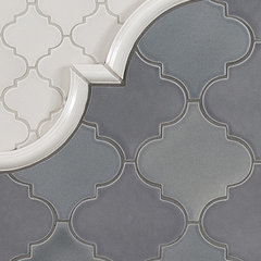 contemporary kitchen tile by Pratt and Larson Ceramics