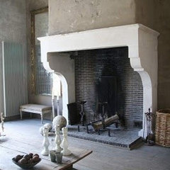 would love to have fireplace that tall {but uhmm in ... | fireplace