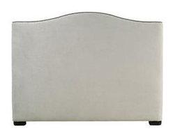 Contempo Bedroom Morgan Panel Queen Headboard 753-H64H - Walter E. Smithe - 10 C -
