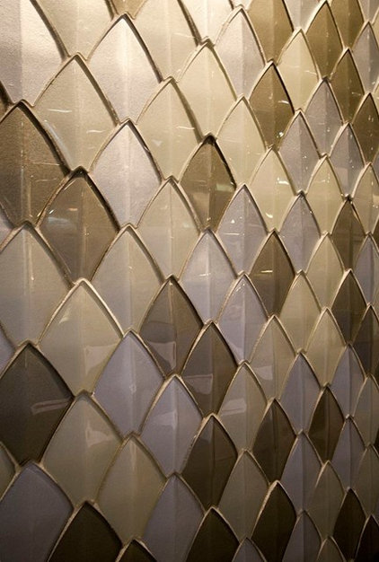 Contemporary Mosaic Tile by Royal Stone & Tile