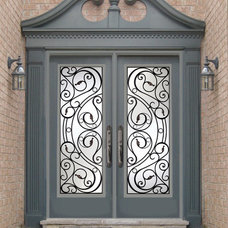 Contemporary Front Doors by International Iron and Stone LLC
