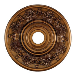 Elk Lighting - Elk Lighting M1004AB Ceiling-Medallion Chandelier Ceiling Medallion -M1004AB - Elk products are highly detailed and meticulously finished by some of the best craftsmen in the business.
