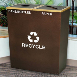 Recycling Containers For Upscale Settings