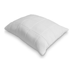Rio Home Fashions - Rio Home Fashions 0.25 in. Quilted Memory Foam Pillow - MFP-112-4S - Shop for Pillows from Hayneedle.com! You can get the best of both worlds with the Rio Home Fashions 0.25 in. Quilted Memory Foam Pillow. The breathable bamboo blended air knit cover is quilted with .25 inch of memory foam which is known to give your head neck and shoulders serious support. The inside is generously filled with soft polyester fiberfill giving you the fluffy feel of a traditional pillow.