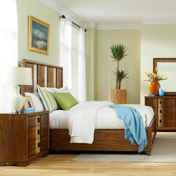 Bedroom | Smart Furniture - Invite yourself to relax in this contemporary  beach inspired bedroom. at SmartFurniture.com