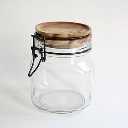 Limpid Jar - The Limpid Jar from Chabatree is a throwback to the canning jars our parents and grandparents used to use.