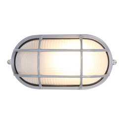 Access Lighting - Access Lighting Nauticus C20290 Fluorescent Outdoor Wall Sconce - C20290BLFSTEN1 - Shop for Wall Mounted from Hayneedle.com! The Access Lighting Nauticus C20290 Fluorescent Outdoor Wall Sconce features rust-proof aluminum in a contemporary crosshatch frame an eye-catching design in your choice of finish. Available with the option of frosted glass this attractive sconce has been certified by the Energy Star program for energy-efficient performance. It comes with 13W spiral bulb for outdoor use including in UL Listed wet conditions.About Access LightingAt Access Lighting top-quality lighting solutions are simple smart practical beautiful and affordable. Those fundamentals permeate the Access Lighting experience from browsing to catalogue to ordering to receipt. With contemporary and transitional styles for indoors and outdoors as well as a wider range of energy-efficient options California-based Access Lighting values customers just as much as it does quality lighting.